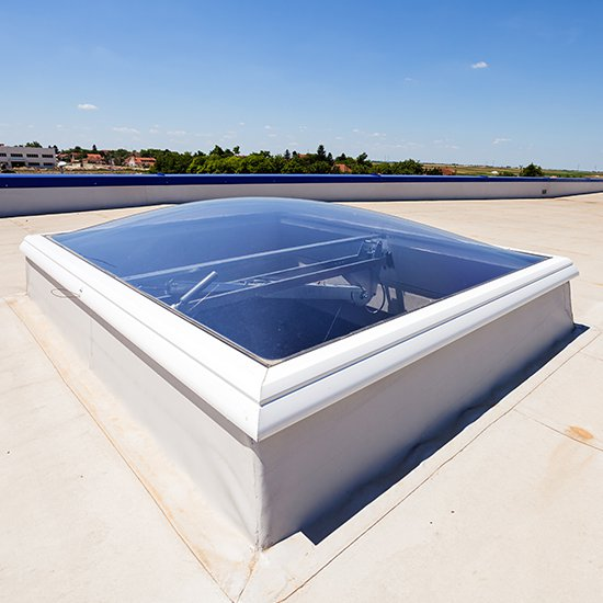 Flat Roof Skylight Installations