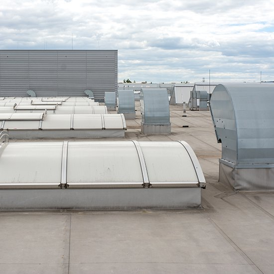 Industrial Flat Roofing Installations