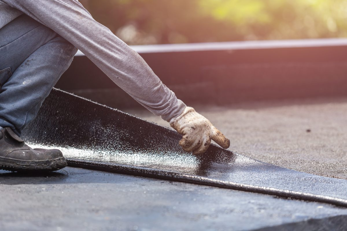 Flat Roof Repair How to repair a Leaky Flat Roof